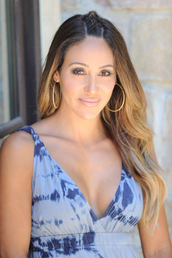 Melissa Gorga - Filming 'The Real Housewives of New Jersey' in Montville