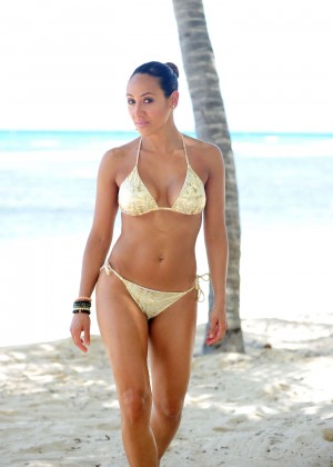 Melissa Gorga in Bikini in Jamaica