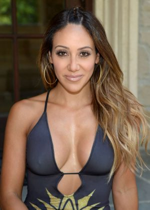 Melissa Gorga in Swimsuit in Montville