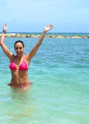 Melissa Gorga in Pink Bikini -50