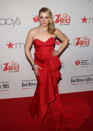 Melissa Joan Hart - American Heart Association's Go Red for Women Red Dress Collection 2018 in NY