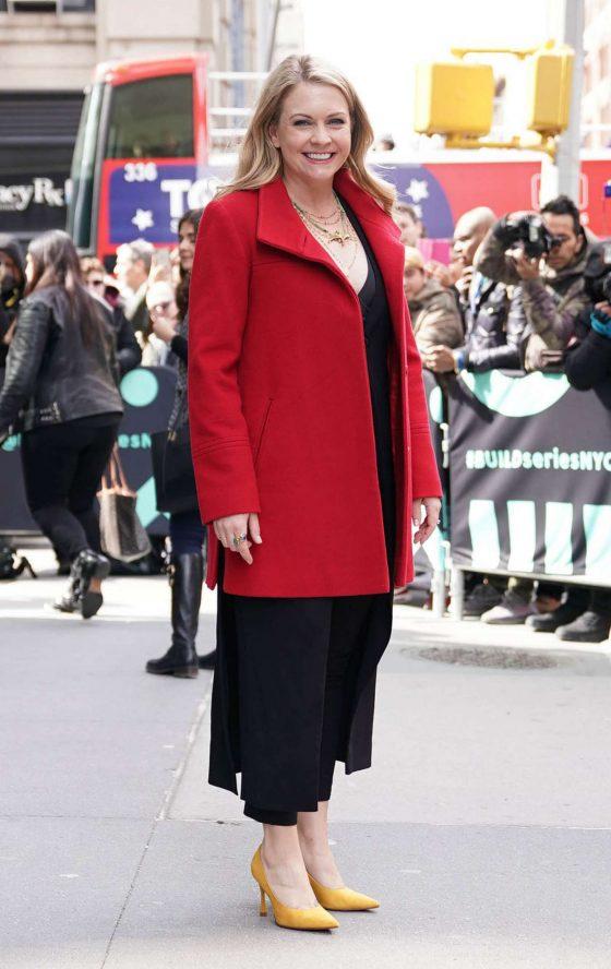 Melissa Joan Hart: Arrives at the AOL Build Series -01
