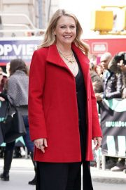 Melissa Joan Hart - Arrives at the AOL Build Series in New York