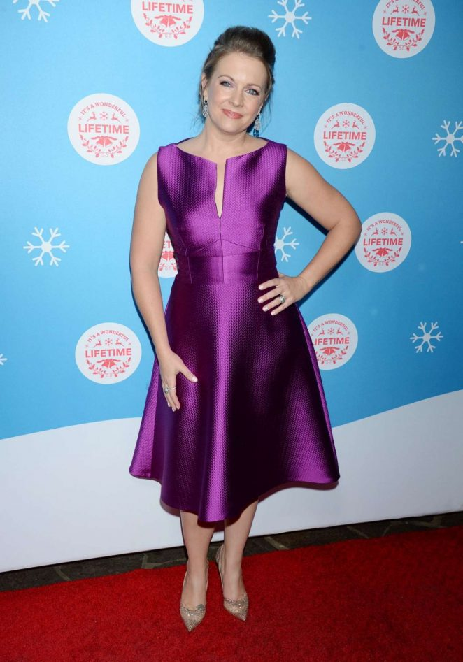Melissa Joan Hart - Lifetime Christmas Movies 2018 Event in Los Angeles