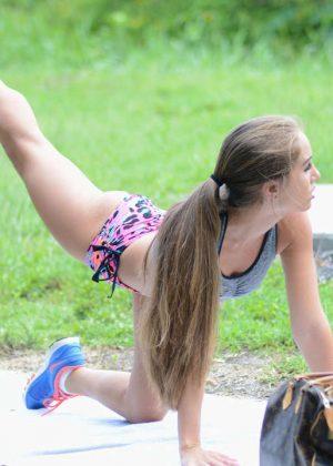 Melissa Lori: Workout in Miami -15