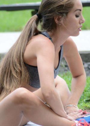 Melissa Lori: Workout in Miami -19