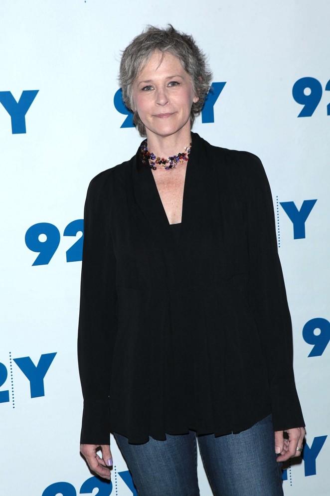 Melissa McBride - 'The Walking Dead' Screening in NYC