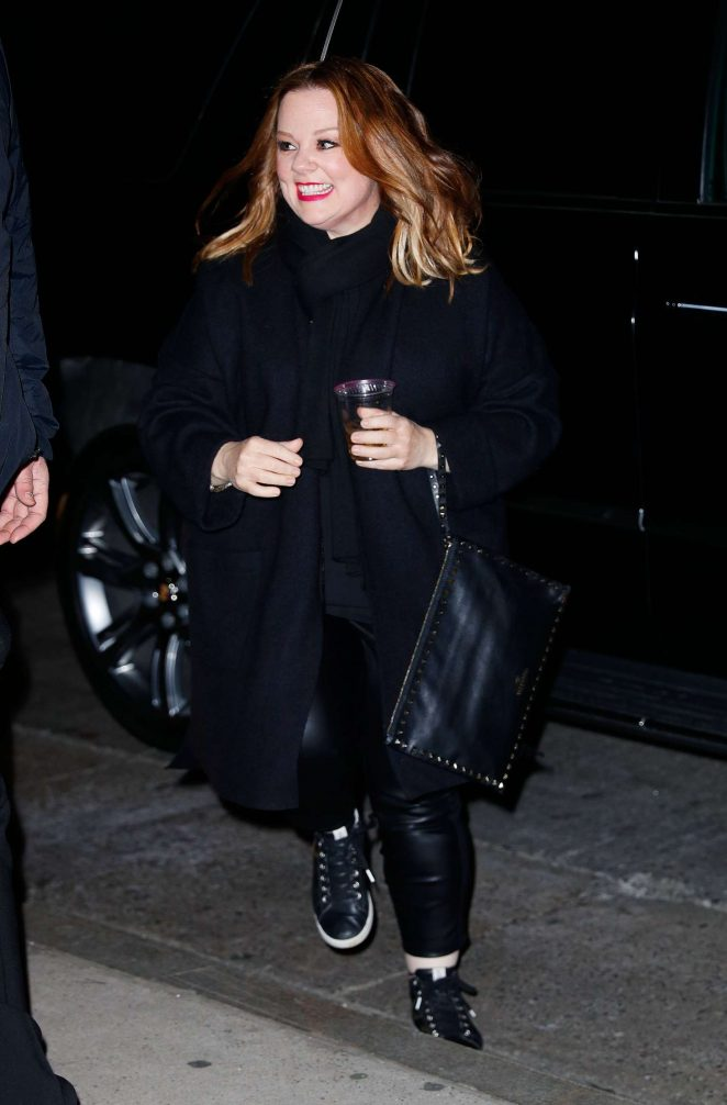 Melissa McCarthy - Arrives at STK for SNL afterparty in New York