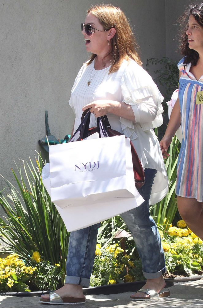 Melissa McCarthy – Attends InStyle's 'Day of Indulgence' Party in Brentwood