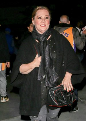 Melissa McCarthy - Attends the Lakers' game in Los Angeles