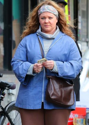 Melissa McCarthy - Filming 'The Kitchen' in NYC
