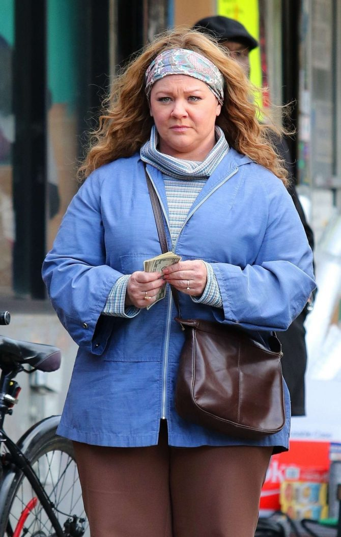 Melissa McCarthy – Filming 'The Kitchen' in NYC
