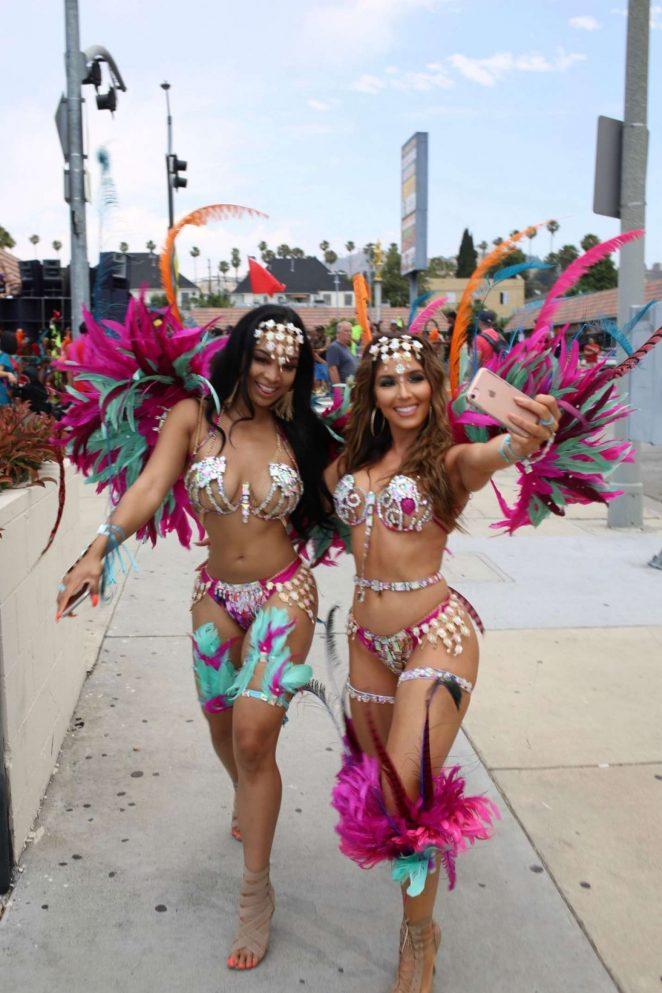 Melissa Molinaro and Liane V at The Carnival Celebration in Hollywood