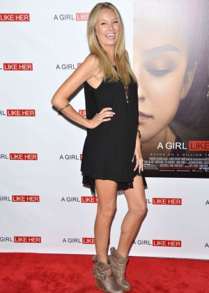 "Melissa Ordway  - ""A Girl Like Her"" Premiere in Hollywood"