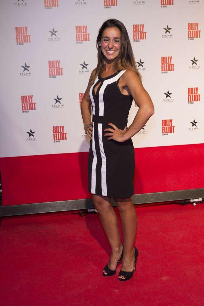 Melissa Ortiz-Gomez - 'Billy Elliot the Musical' Premiere in Hamburg