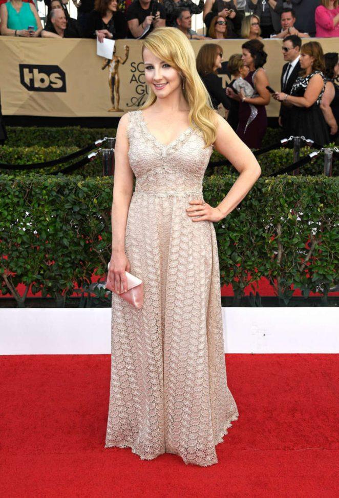 Melissa Rauch: 2017 Screen Actors Guild Awards -05