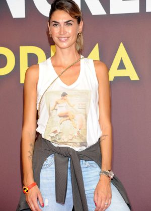 Melissa Satta - 'The Incredibles 2' Photocall in Milan