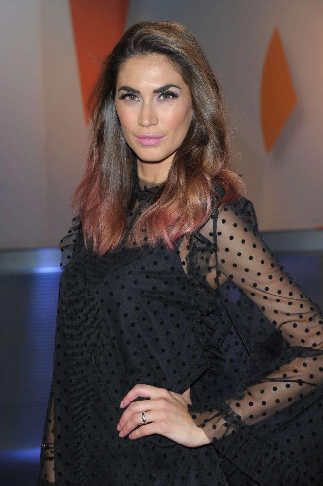 Melissa Satta - TV Show 'Tiki Taka' in Milan