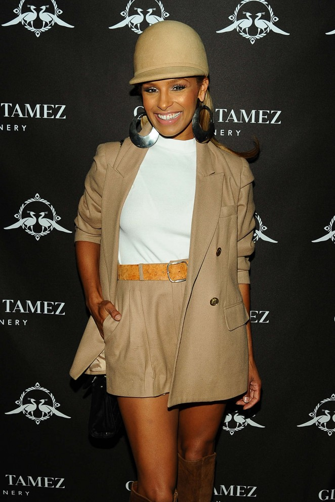 Melody Thornton - Gladys Tamez FW 2015 The Zodiac Collection Preview Party