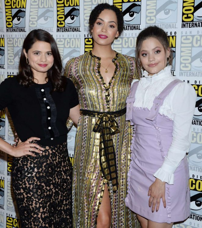Melonie Diaz: Charmed Photocall at 2018 Comic-Con -02 | GotCeleb