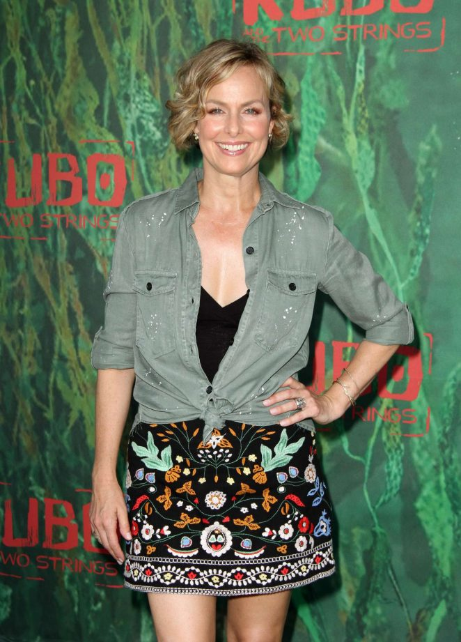 Melora Hardin - 'Kubo and The Two Strings' Premiere in Los Angeles