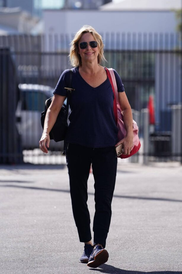 Melora Hardin - Seen at the Dancing With The Stars rehearsal studio in Los Angeles