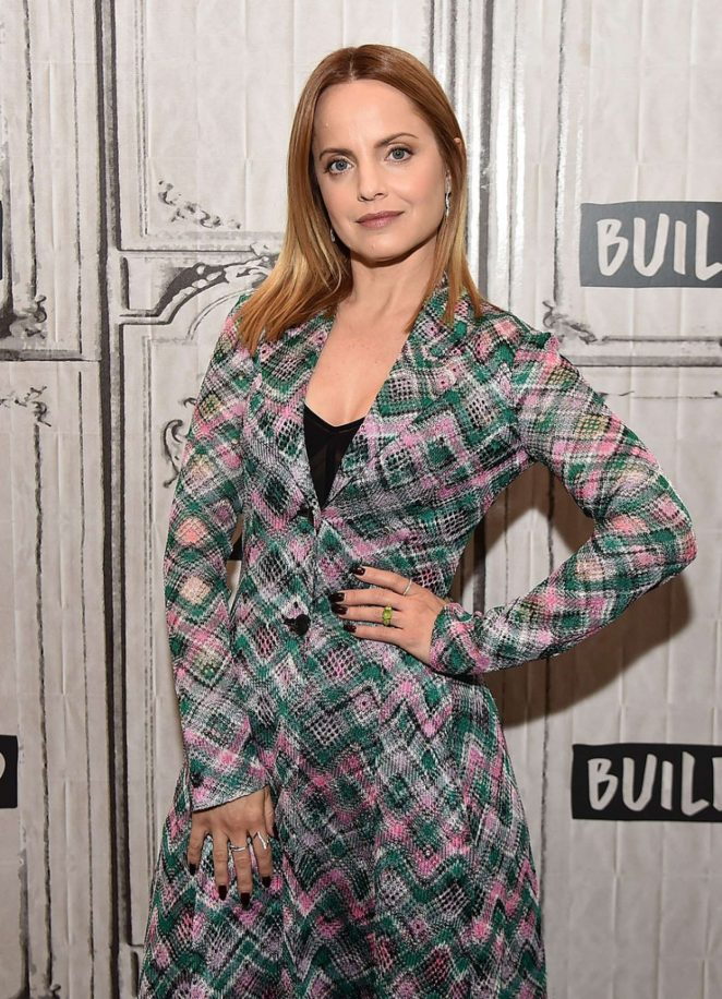 Mena Suvari - AOL Build Appearance in New York