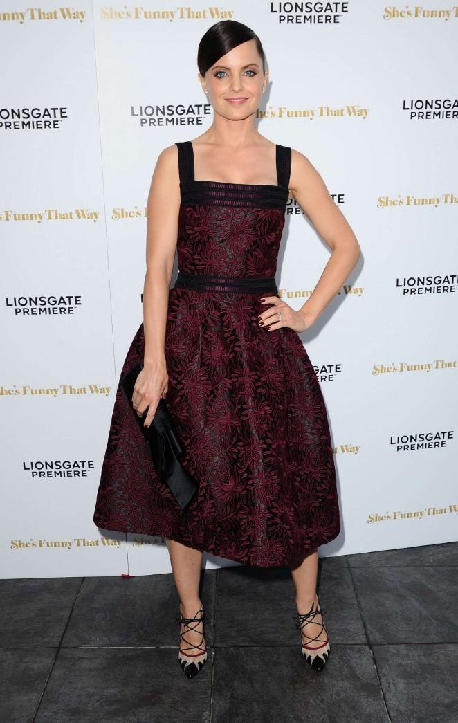 Mena Suvari – 'She's Funny That Way' Premiere in Los Angeles