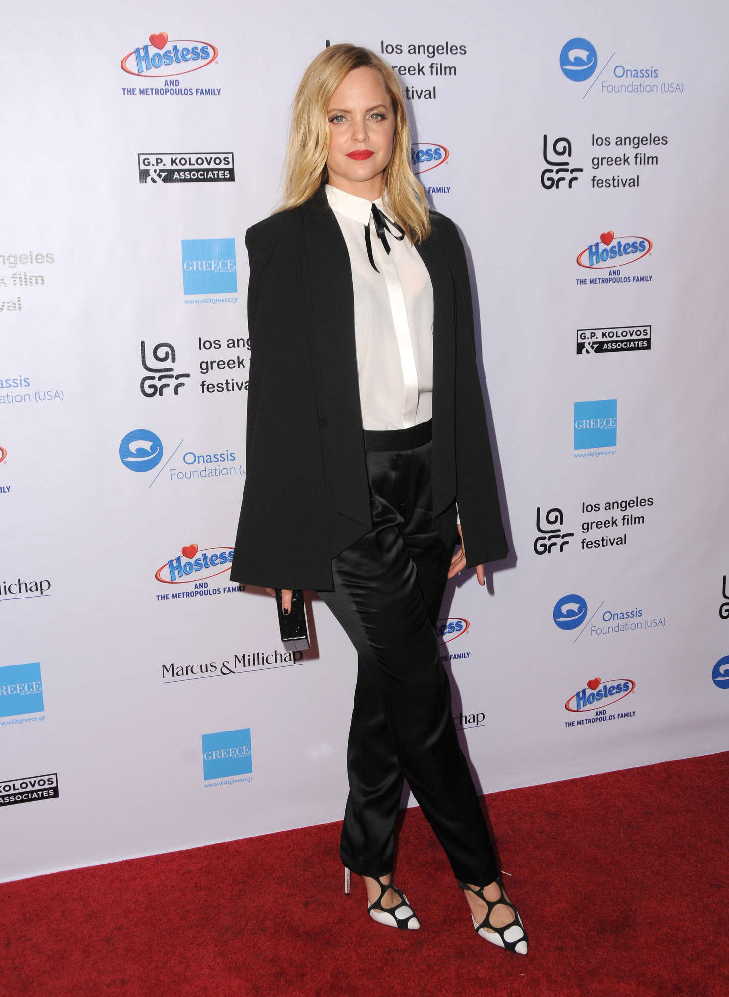 Mena Suvari 2016 : Mena Suvari: Worlds Apart Premiere at 2016 LA Greek Film Festival -01