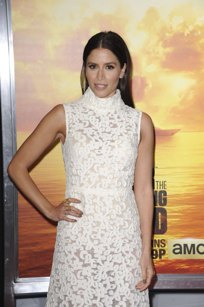 Mercedes Masohn - 'The Walking Dead' Premiere in Los Angeles