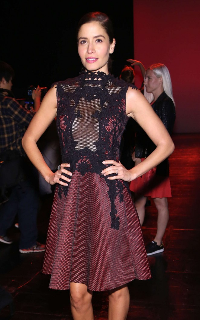 Mercedes Mason - Vivienne Tam Fashion Show Spring 2016 NYFW in NYC