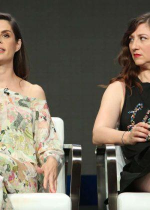 Meredith MacNeill and Aurora Browne - 'Baroness Von Sketch Show' TV Show Panel at 2017 TCA Summer Press Tour in LA