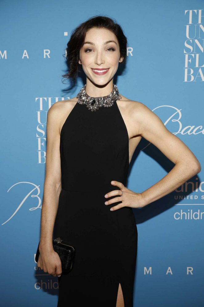 Meryl Davis - 2016 UNICEF Snowflake Ball in New York
