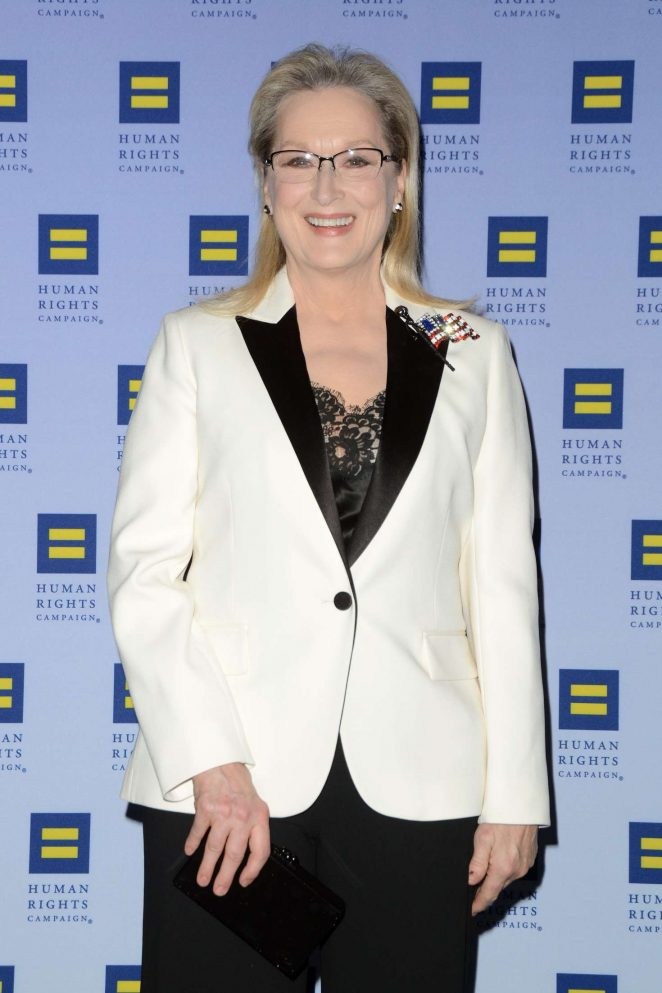 Meryl Streep - 2017 Human Rights Campaign Greater New York Gala in NY