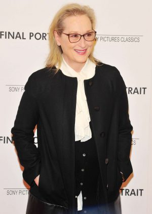 Meryl Streep - 'Final Portrait' Screening in New York