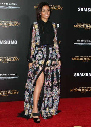 Meta Golding - 'The Hunger Games: Mockingjay' Part 2 Premiere in LA