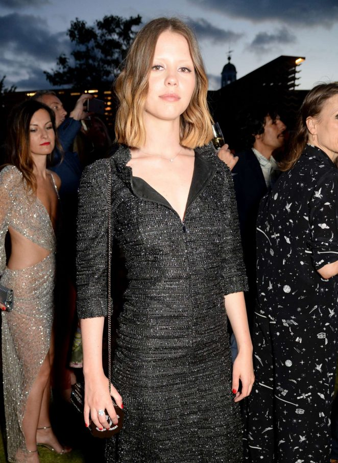 Mia Goth - 2018 Serpentine Gallery Summer Party in London