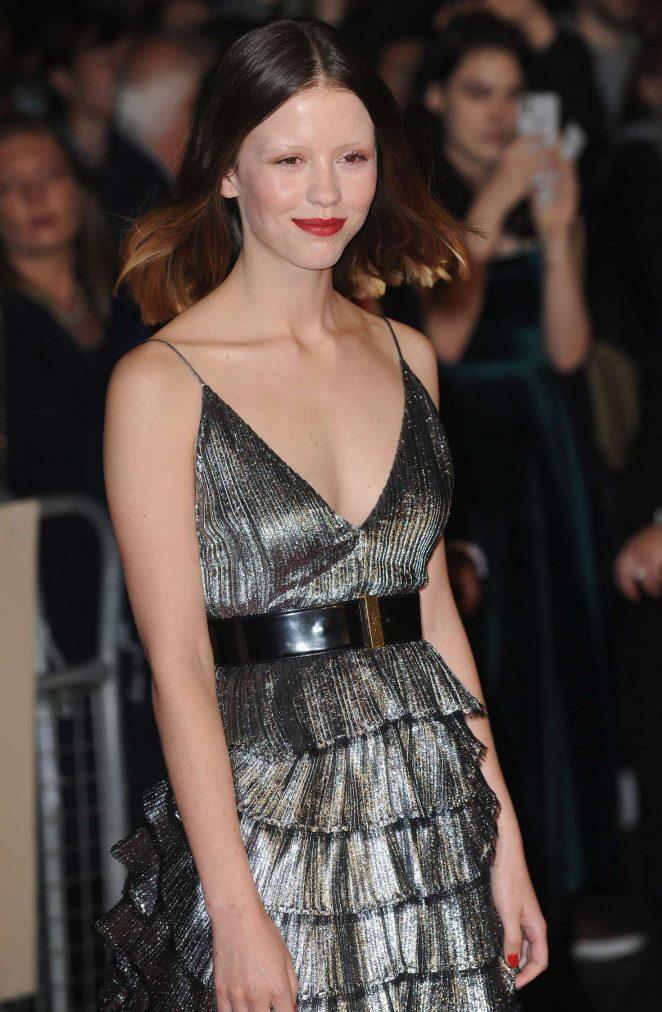 Mia Goth - 'Suspiria' Premiere at 62nd BFI London Film Festival in London