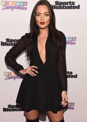 Mia Kang - Sports Illustrated and KIZZANG Bracket Challenge Party in NYC