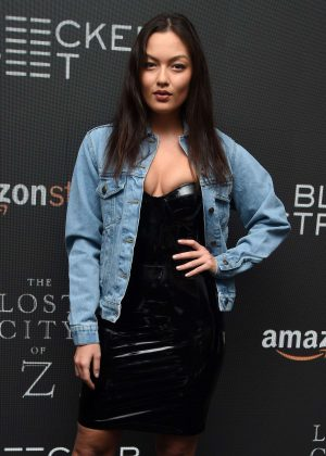 Mia Kang - 'The Lost City of Z' Screening in New York