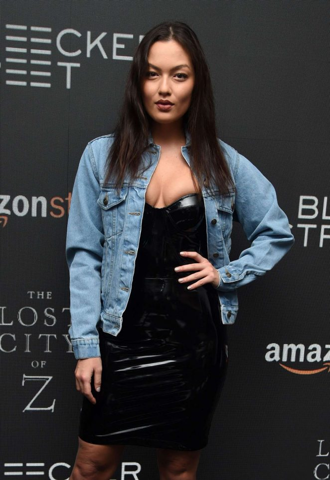 Mia Kang – 'The Lost City of Z' Screening in New York