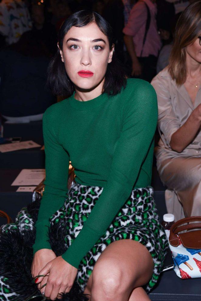 Mia Moretti - Jeremy Scott Fashion Show at 2016 NYFW in NYC