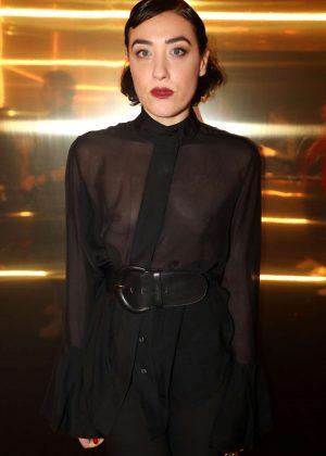 Mia Moretti - Saint Laurent Show AW 2017 in Paris