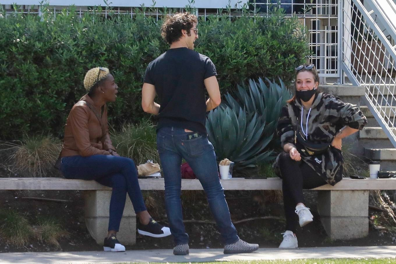Mia Swier 2021 : Mia Swier – lunch with friends in Los Feliz-13