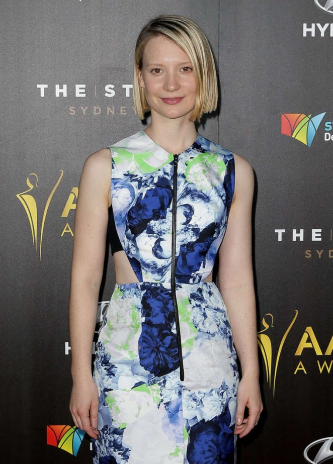 Mia Wasikowska - 2015 AACTA Awards Ceremony in Sydney