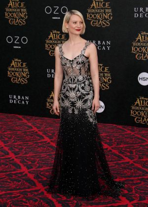 Mia Wasikowska - 'Alice Through The Looking Glass' Premiere in Hollywood