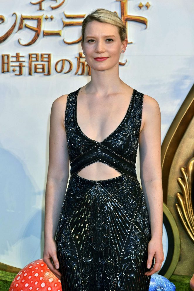 Mia Wasikowska - 'Alice Through the Looking Glass' Premiere in Tokyo