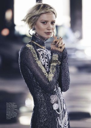 Mia Wasikowska - Vogue Australia Magazine (July 2016)