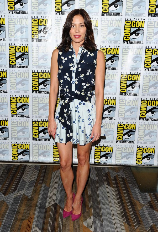 Michaela Conlin - 'Bones' Press Line at Comic-Con 2016 in San Diego