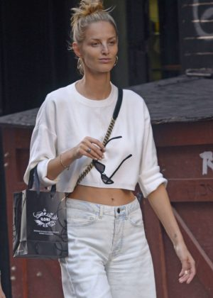 Michaela Kocianova out in New York City